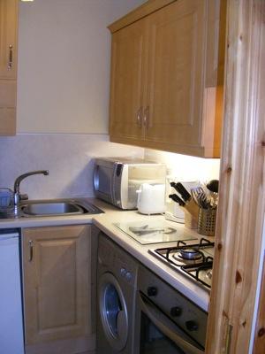 Garden Apartment Kitchen