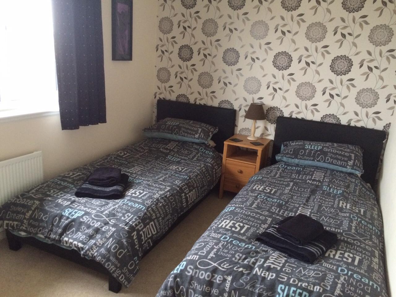 Portlethen Twin Room